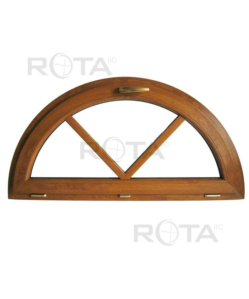 Finestra semicircolare a vasistas con inglesine incollate for Finestra a vasistas