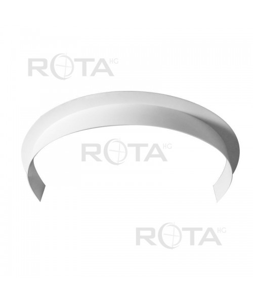 Profilo angolare in pvc per finestra rotonda semicircolare ovale - Finestra rotonda e ovale ...