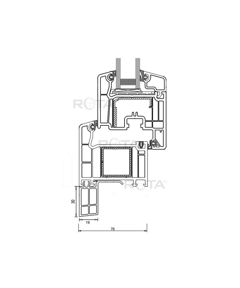 Coprifilo in pvc per finestra rotonda semicircolare ovale - Finestra rotonda e ovale ...