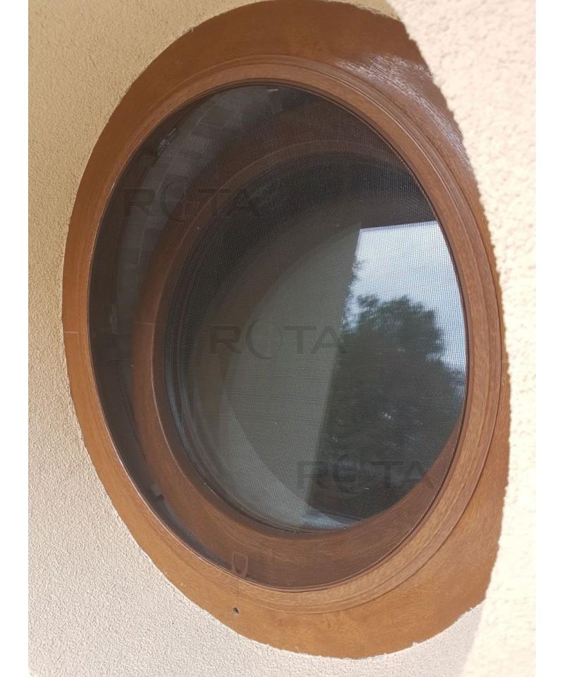 Top zanzariera con telaio per finestra rotonda with - Finestra ovale e finestra rotonda ...