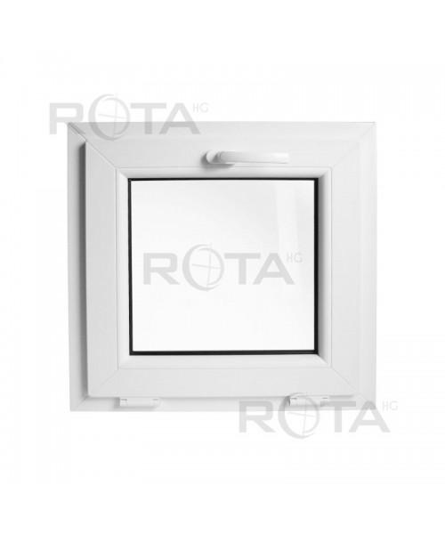 Finestra a vasistas 450x450mm bianco in pvc - Finestra a vasistas ...