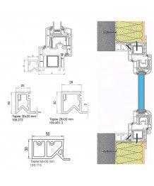 profili di finitura rota serramenti speciali. Black Bedroom Furniture Sets. Home Design Ideas