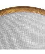 Zanzariera con telaio per finestra rotonda
