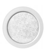 Finestra rotonda oblò fisso in PVC bianco con vetro stampato