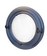 Finestra rotonda oblò a bilico in PVC verniciate in ogni colore RAL