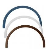 Profilo piatto in PVC per le finestre semicircolari
