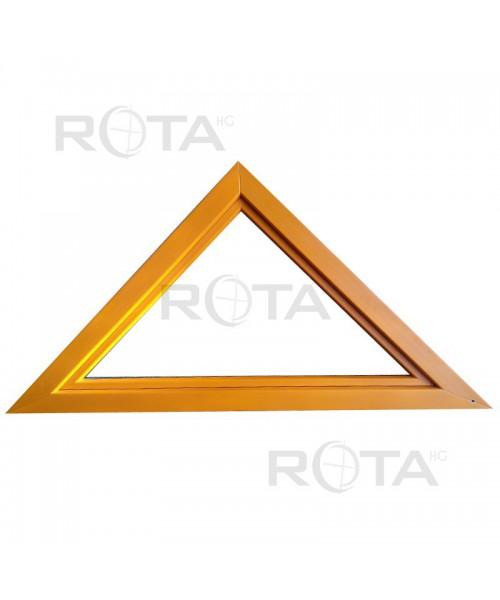 Finestra triangolare a vasistas PVC verniciate in ogni colore RAL